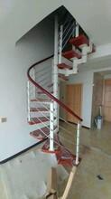 重型卷板楼梯欧式图片