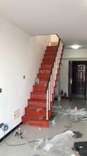 中柱旋转楼梯实木楼梯厂家图片