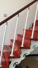 斜梁楼梯不锈钢护栏立柱批发图片