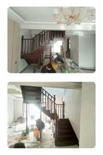 复试楼梯实木立柱烤漆图片