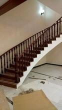 钢木楼梯阳台护栏多少钱图片