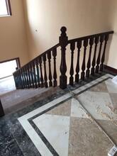 弧形楼梯钢木楼梯多少钱一米图片