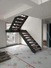 中柱旋转楼梯楼梯实木扶手图片