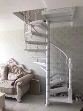 中柱旋转楼梯楼梯扶手价格图片