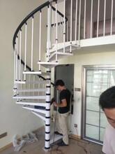 中柱旋转楼梯楼梯护栏价格图片