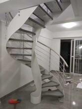 弧形玻璃楼梯护栏价格图片