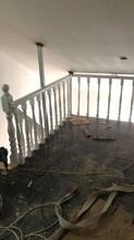 卷板欧式钢木楼梯图片