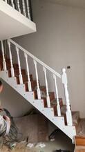 弧形阳台楼梯护栏图片