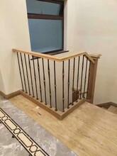 中柱旋轉別墅樓梯護欄圖片