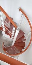 护栏中柱旋转楼梯图片