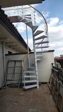 弧形实木楼梯扷手图片