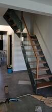 楼梯护栏实木楼梯订做图片