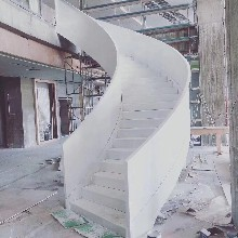 樓梯木板采用泰國橡膠木實木木板圖片
