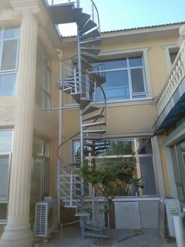 弧形脊索亮环楼梯