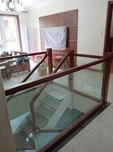 玻璃樓梯鋼木樓梯價圖片