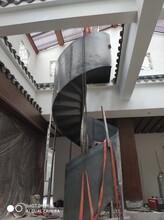 卷板占地小的楼梯图片