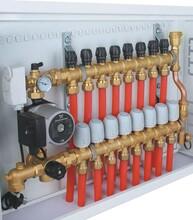 西安分水器、西安采暖分集水器、西安地暖分水器销售安装联系图片