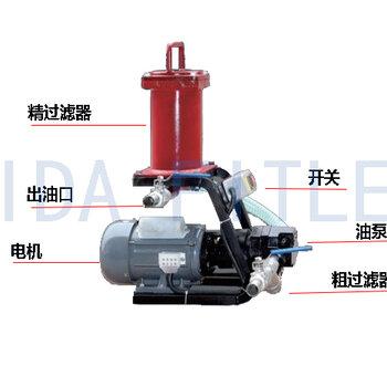 实力认证厂家艾达供应液压油便携式滤油机BLYJ-6