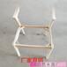 供應實木桌椅白茬實木簡約Z字椅白茬帶座板靠背實木酒吧椅靠背扶手椅白茬