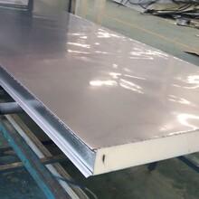 B1級聚氨酯冷庫板不銹鋼雙面保溫夾芯板加厚機制外墻板圖片