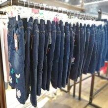 淘淘猫加棉加绒牛仔裤品牌折扣童装厂家直销超低价