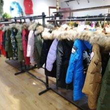 18年湖北汉正街冬季新款儿童羽绒服男女童中长款90绒品牌折扣童装货源批发