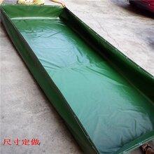 刀刮布鱼池折叠水池折叠水池价格_优质养殖折叠水池批发图片