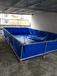 厂家直销广州户外养殖帆布水池折叠游泳池支架鱼池防雨布龟池锦鲤池家庭戏水池定做
