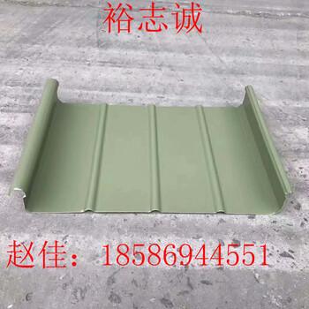 供应浙江铝镁锰屋面直立锁边系统65-430工厂直销