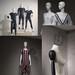 上海服装道具模特店面假人电镀玻璃钢可定制造型