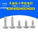 304不銹鋼大扁頭自攻螺絲十字扁圓頭自攻螺絲釘廠家批發