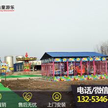 公园游乐设备喷球车图片