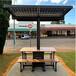 中賽創太陽能智能亭太陽能WIFI亭太陽能休息棚