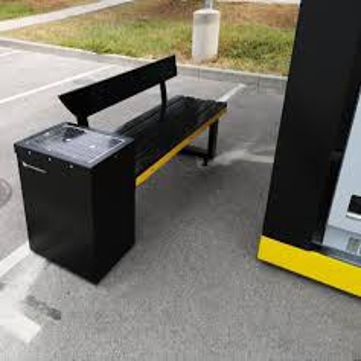中赛创科技供应太阳能座椅公园座椅充电座椅户外座椅