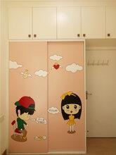广州韩森派全屋定制儿童房卡通衣柜置物架卧室柜移门柜收纳柜