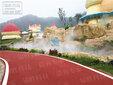 貴州人造霧,人造霧效景觀,噴霧景觀環境藝術工程,景觀造霧加濕降塵圖片