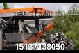 台湾小?#25512;?#36710;拆解设备图片,废旧汽车粉碎机用途不断改进