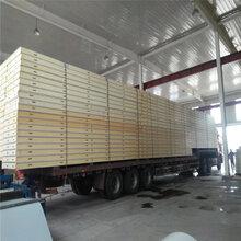 彩钢冷库板-彩钢冷库保温板价格冷库板厂家图片