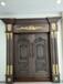 金牌实用铜门,高端美丽大方品质有保证的豪华别墅铜门-居旺阁品牌设计定制