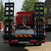 江淮前四后八平板运输车厂家处理图片