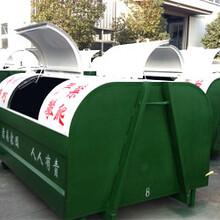 重庆大足校区勾臂垃圾车价格√长安勾臂垃圾车图片