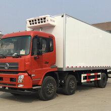 东风天锦小三轴8.6米冷藏车