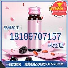 黑莓枸杞沙棘果汁饮料樱桃果汁酵素口服液代加工oem贴牌