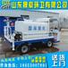 加工定制小型電動灑水車電動灑水車價格多功能灑水車圖片