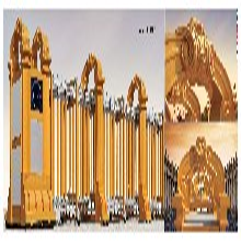 伸縮門電動伸縮門,電動門,哈爾濱自動伸縮門-哈爾濱工地伸縮門圖片