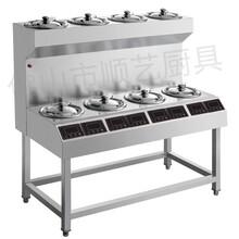 佛山市高昇全自動數碼煲仔飯機,8頭電煲仔爐,紫砂煲仔飯機圖片