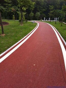 广州地区绿道/绿道施工/透水绿道/透水地坪/透水自行车道施工