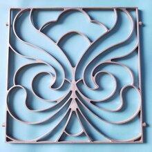 供应上海静安区阳台栏杆配件铝艺大门配件大规格压铸铝装饰花(500和600等规格)