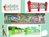 山东校园宣传栏户外媒体广告特价批发