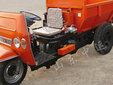 厂家直销工程运输设备三轮车翻斗式工程三轮车图片